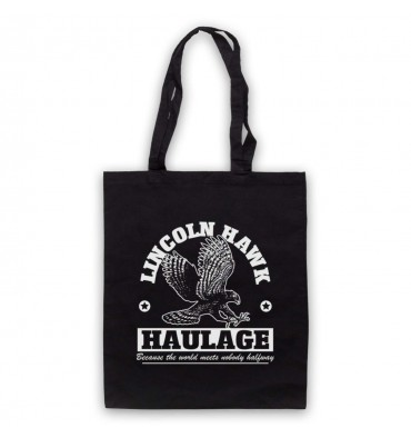 Over The Top Lincoln Hawk Haulage Sylvester Stallone Tote Bag