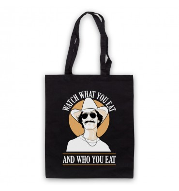 Dallas Buyers Club Watch What You Eat Tote Bag