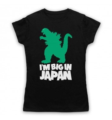 Godzilla Big In Japan Womens Clothing