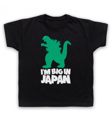 Godzilla Big In Japan Kids Clothing