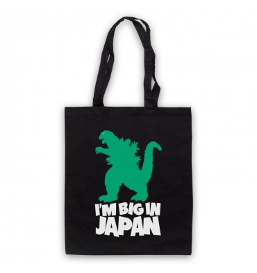 Godzilla Big In Japan Tote Bag