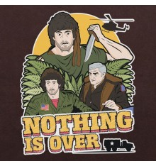 Rambo First Blood Nothing Is Over Mens Clothing