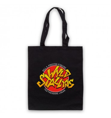 Bill & Teds Excellent Adventure Wyld Stallyns Tote Bag